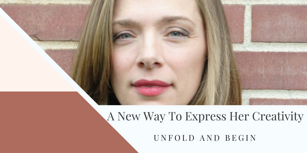 A New Way To Express Her Creativity Starting Over Interview